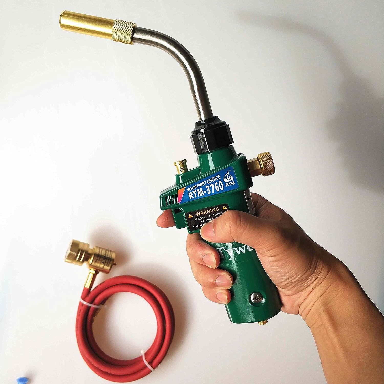 ... arma de soldadura fuerte del remolino para la conexión de la joyería CGA600 de la joyería de la soldadura, Soplete del calentador del quemador ...
