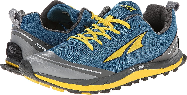 Altra Superior 2.0 - Zapatillas de running para hombre BLUE / CANARY: Amazon.es: Zapatos y complementos