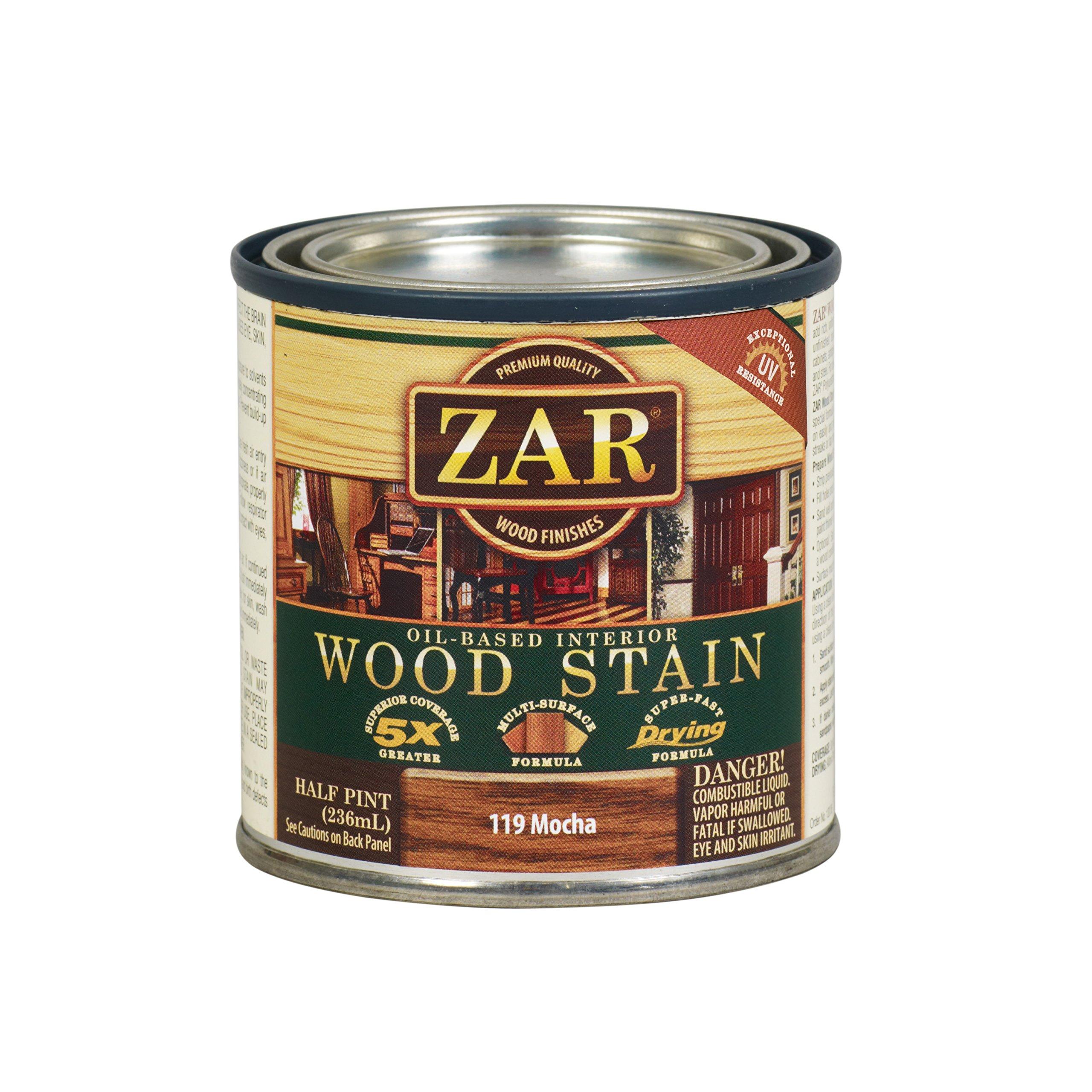 ZAR 11906 Wood Stain, Danish Walnut/Mocha