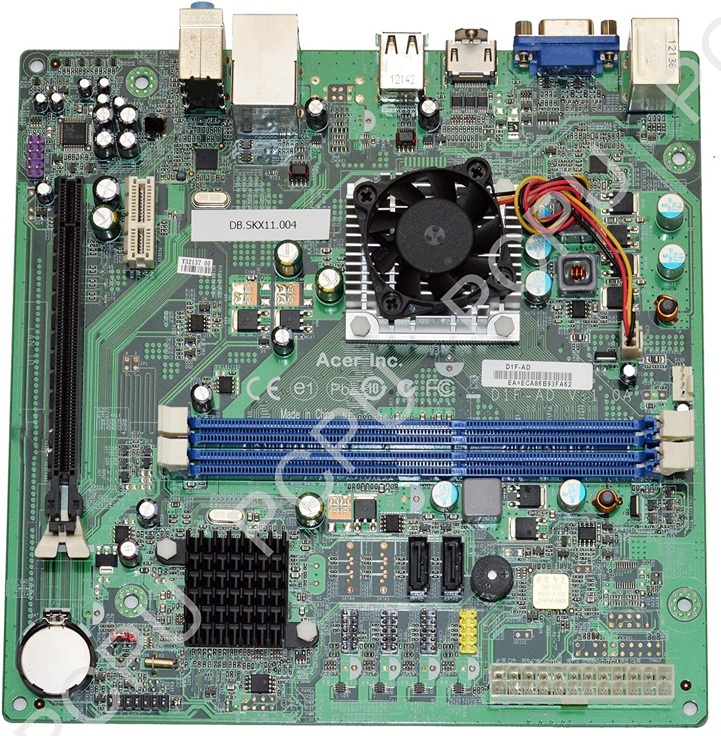 Acer Aspire X1430 Motherboard w// AMD E-350 1.6GHz CPU DB.SKX11.004