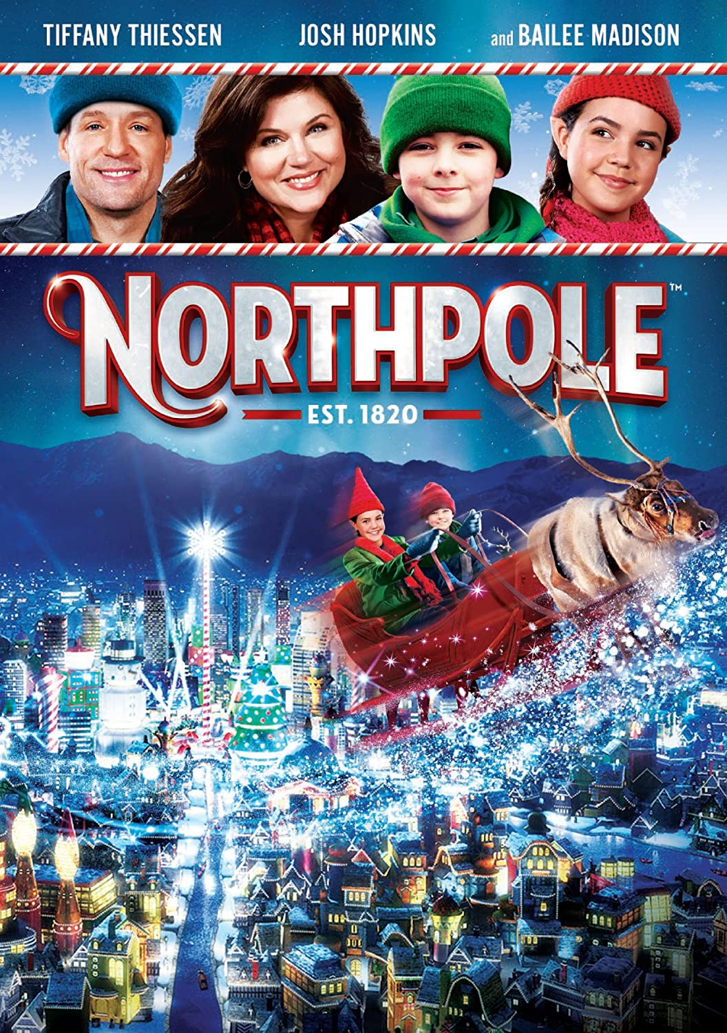 Amazon.com: Northpole: Max Charles, Josh Hopkins, Tiffani Theissen ...