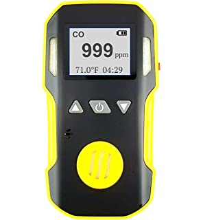 Carbon Monoxide CO Meter by Forensics | Professional Precision Series | Water, Dust & Explosion