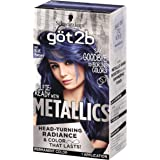 Got2b Metallic Permanent Hair Color, M67 Blue Mercury