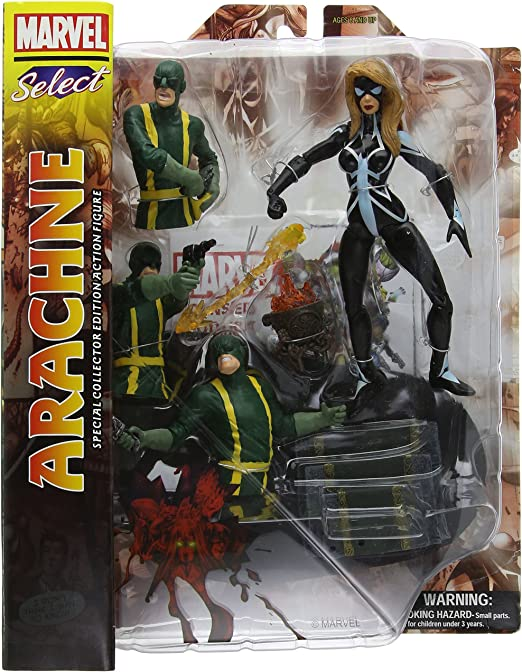 Marvel Select Arachne Action Figure *New ~ Factory Sealed