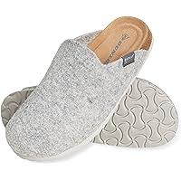 Dunlop Zapatillas Mujer, Zapatillas Casa Mujer de Felpa, Pantuflas Mujer Suela de Goma Antideslizante, Regalos para…
