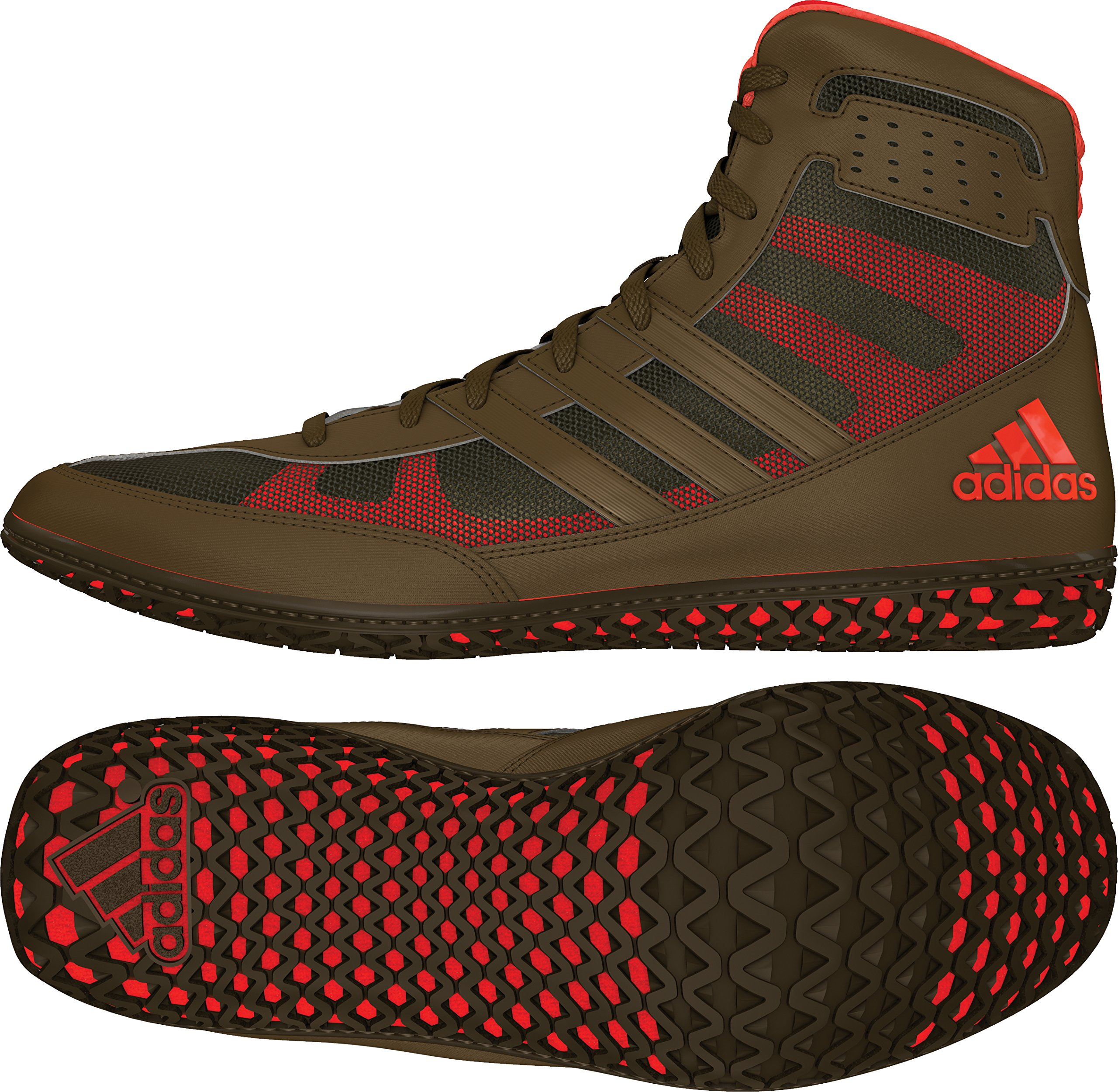 1efe9bb6acf8c2 Galleon - Adidas Mat Wizard David Taylor Edition Men s Wrestling Shoes