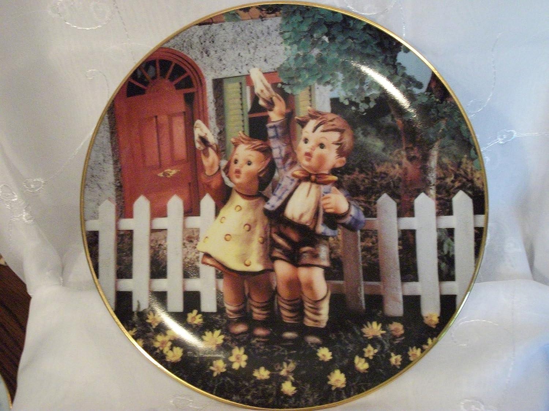 Hummel Plate Little Companions Tender Loving Care Danbury Mint Vintage M.I
