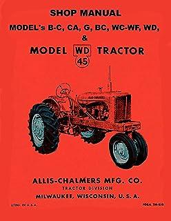 allis chalmers shop manual models b c ca g rc wc wd (i&t shop simplicity lawn tractor wiring diagram allis chalmers b, c, ca, g, rc, wc, wd,