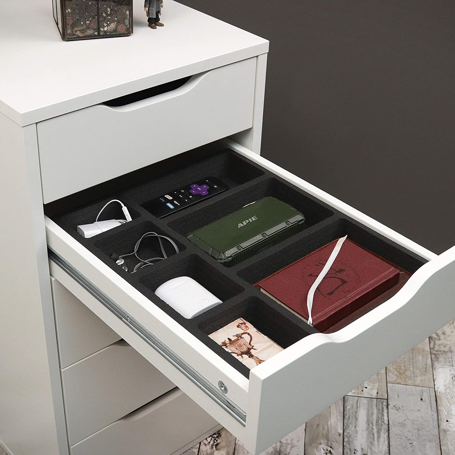 ikea alex drawer makeup organizer