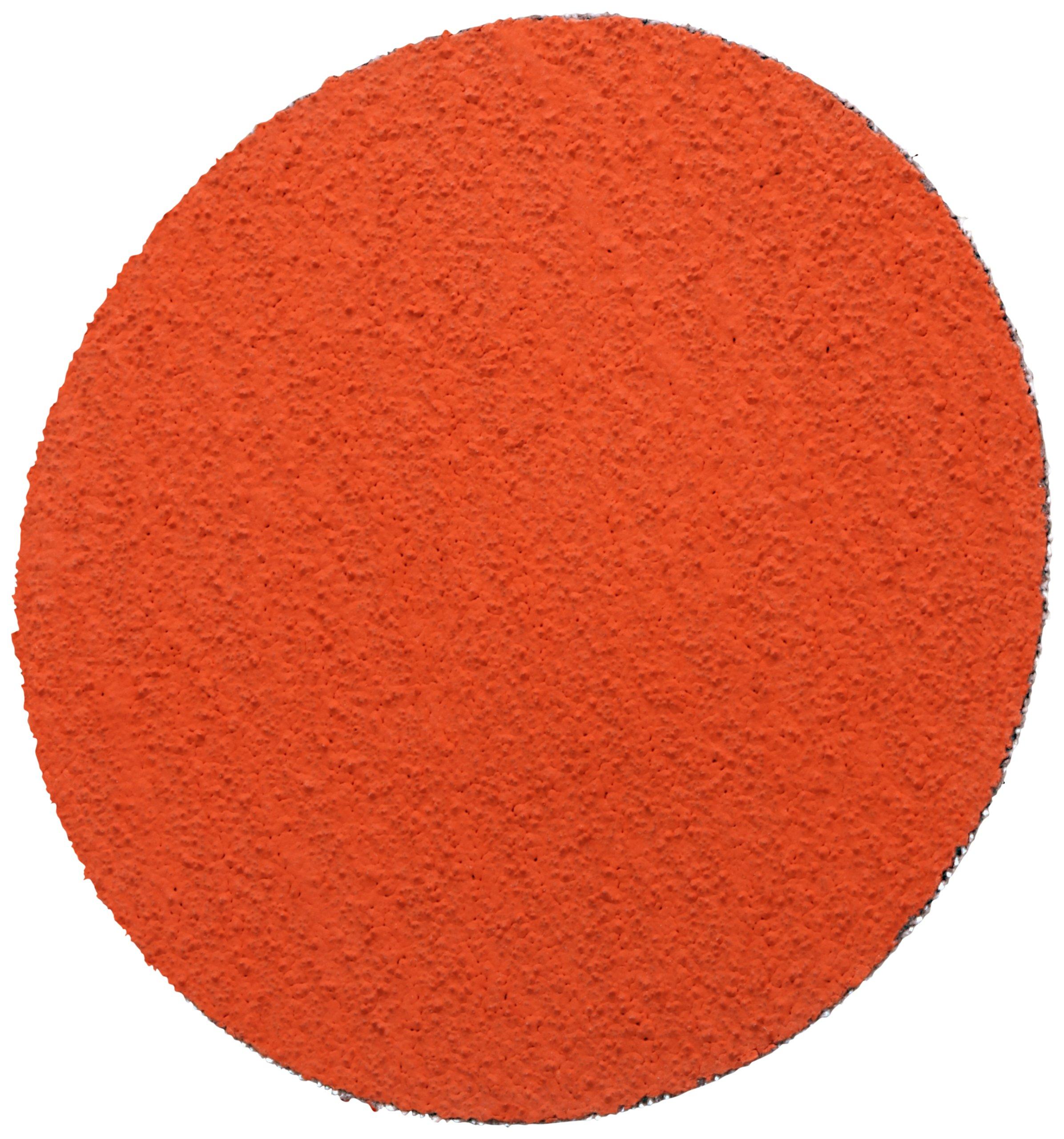 3M(TM) Roloc(TM) Disc 777F, Cloth, TR Attachment, Ceramic Aluminum Oxide, 3'' Diameter, 36 Grit (Pack of 50)
