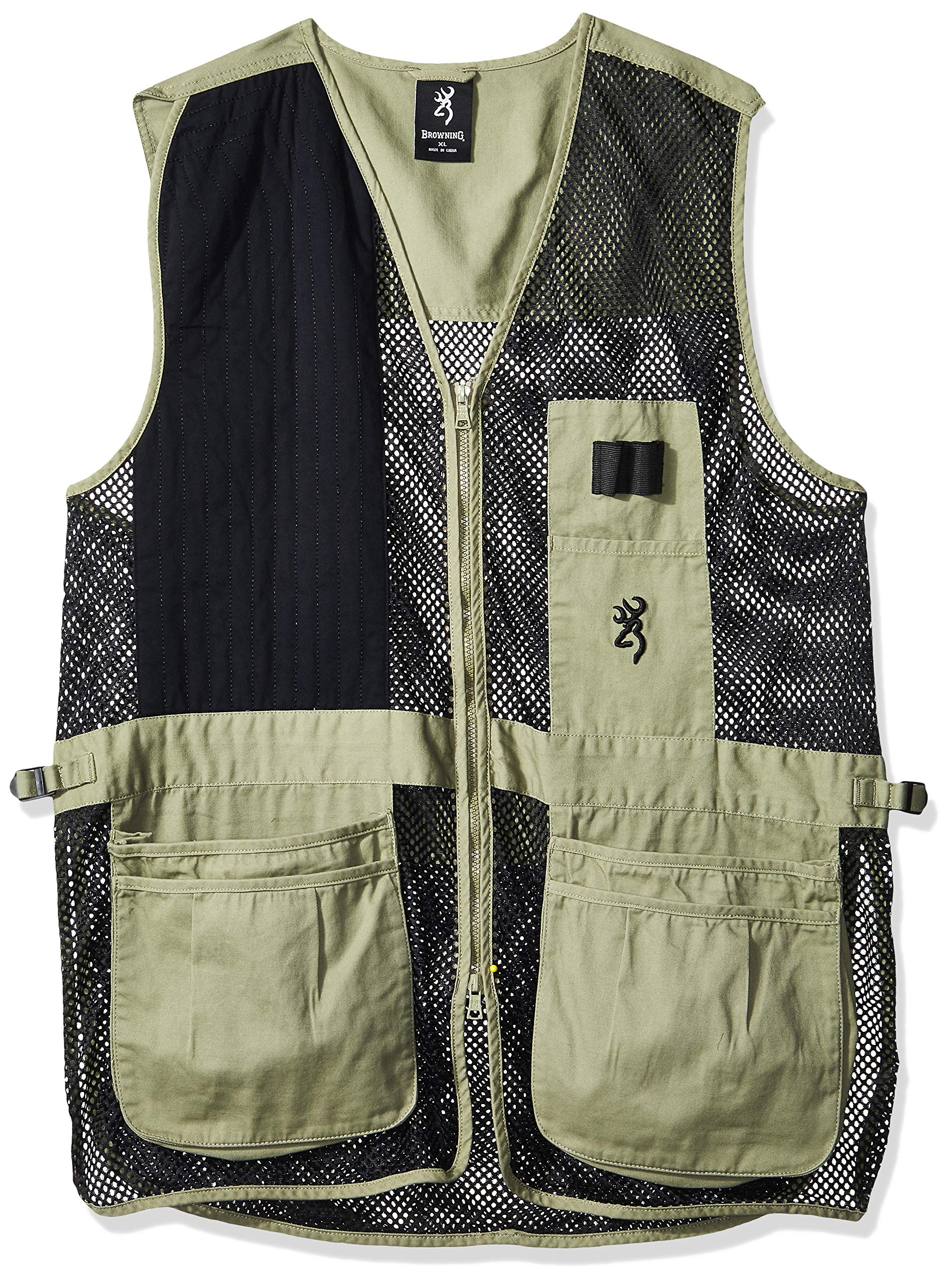 Browning, Trapper Creek Vest, Medium, Sage/Black by Browning