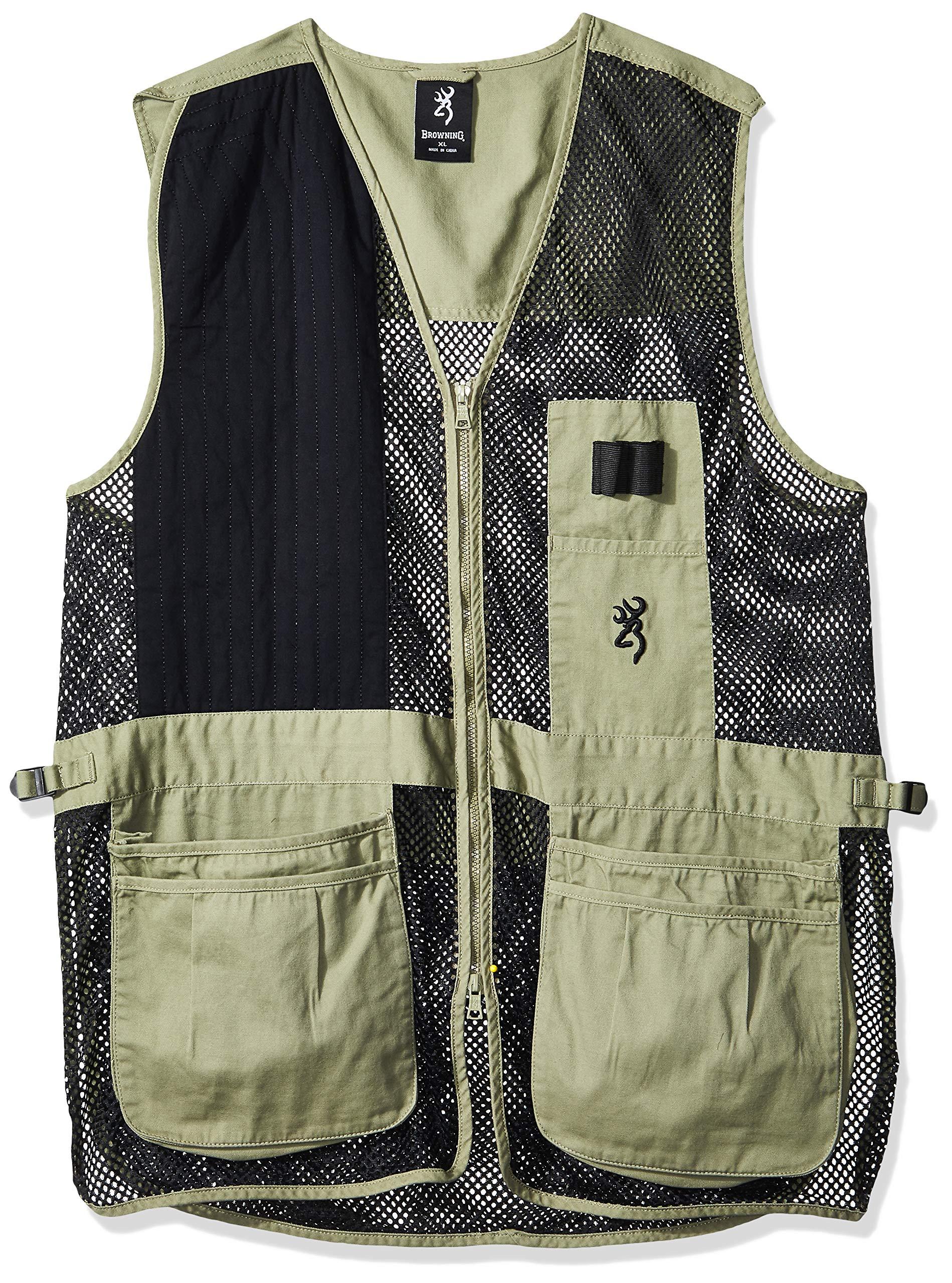 Browning, Trapper Creek Vest, Small, Sage/Black