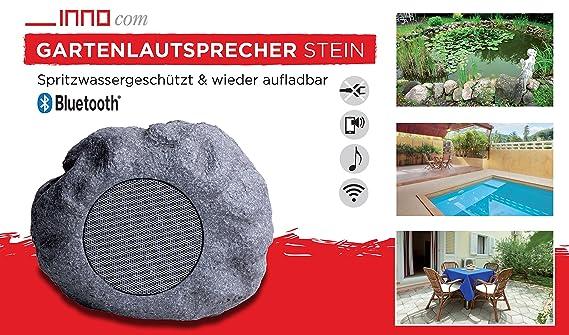 Bluetooth Jardín altavoz altavoz piedra Speaker sonido Wireless Barra de sonido: Amazon.es: Jardín