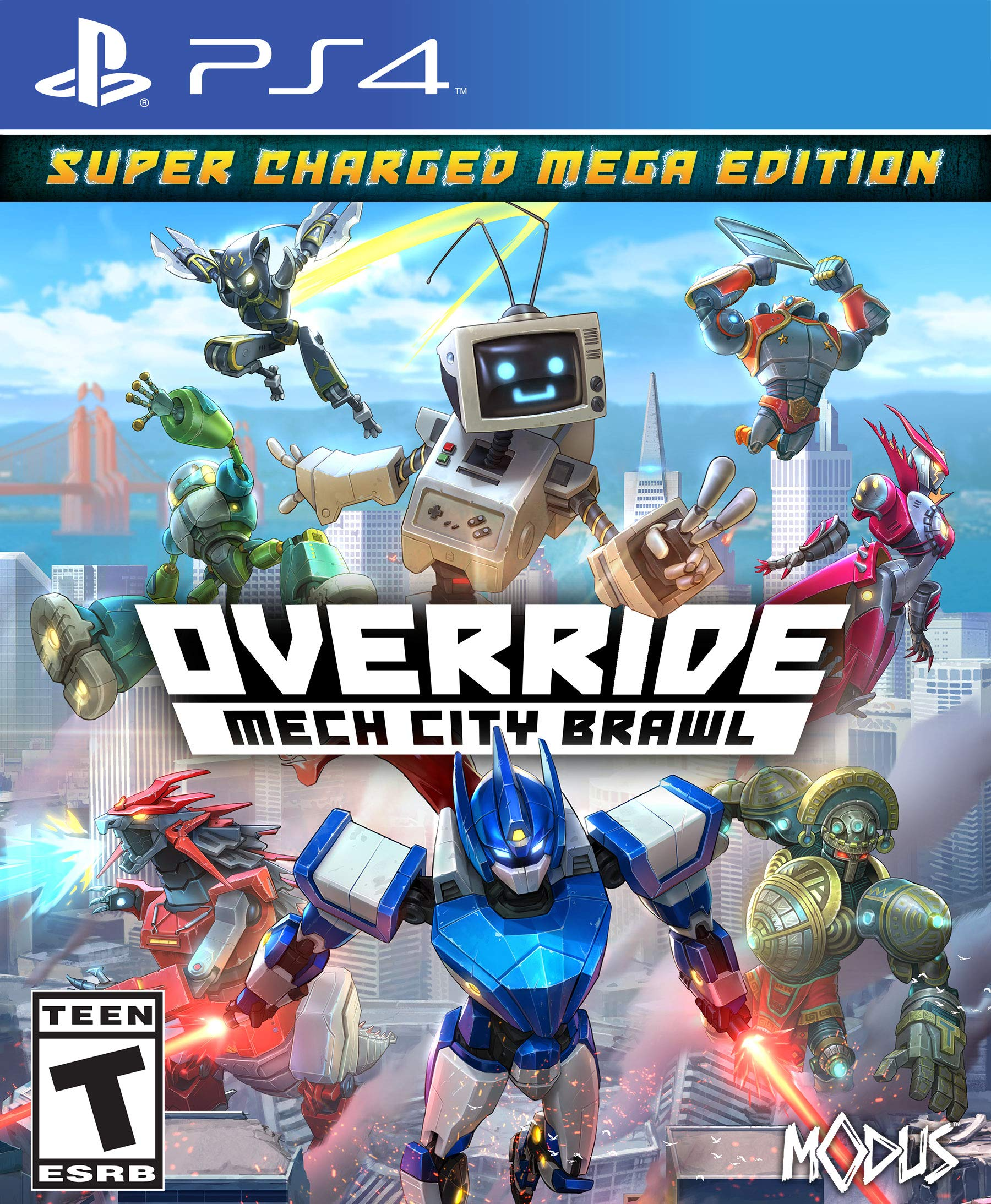 Override: Mech City Brawl - Super Charged Mega Edition - PlayStation 4