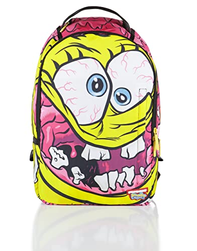 ea46f417f62 Sprayground Spongebob Crazy Pants Backpack - Yellow  Amazon.co.uk ...