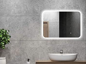 Alldrei Adspiegel Mit Beleuchtung Ad40 Badezimmerspiegel Led Licht