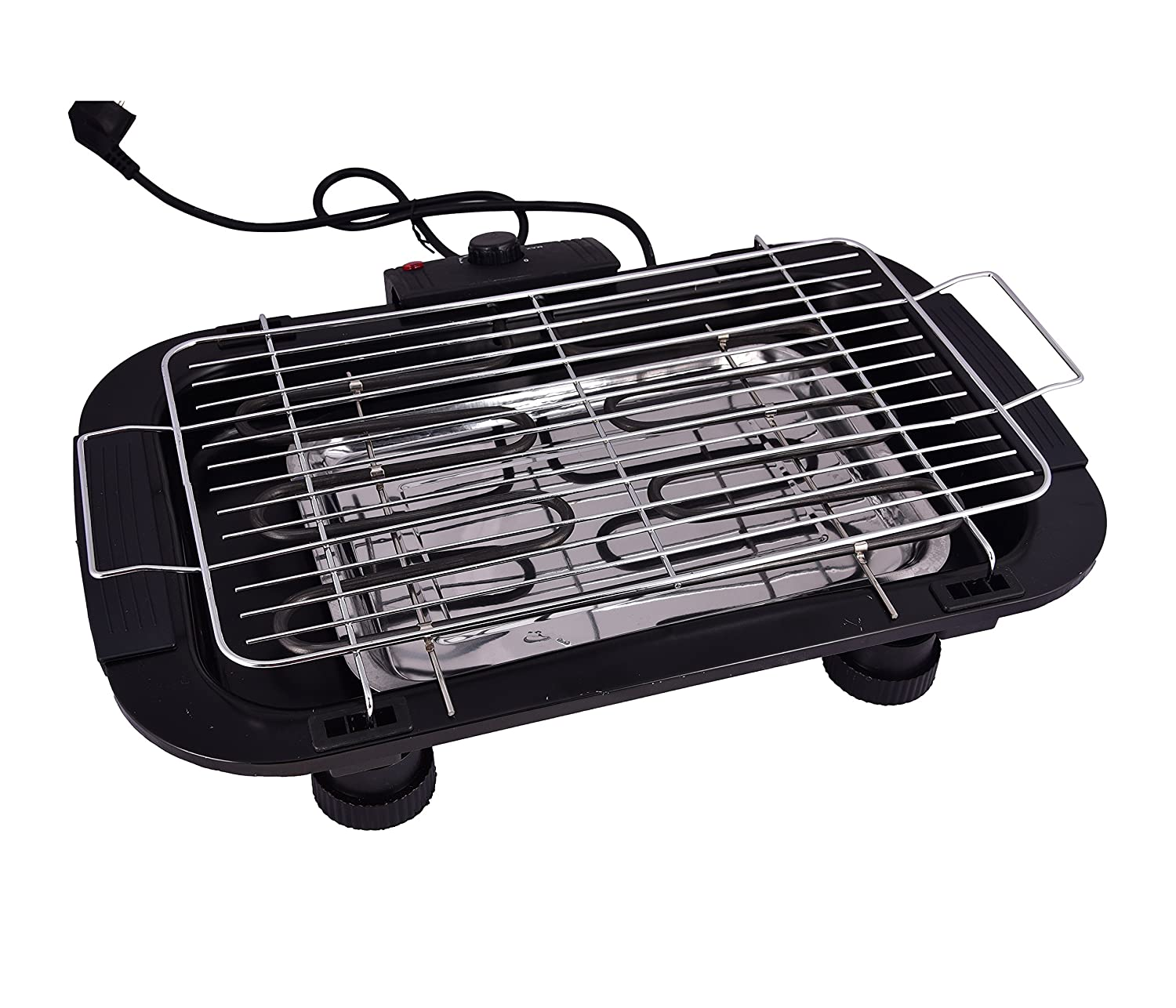 Buy Electric Barbeque Grill Tandoor For Outdoor Indoor Cooking Black Online At Low Prices In India Amazon In