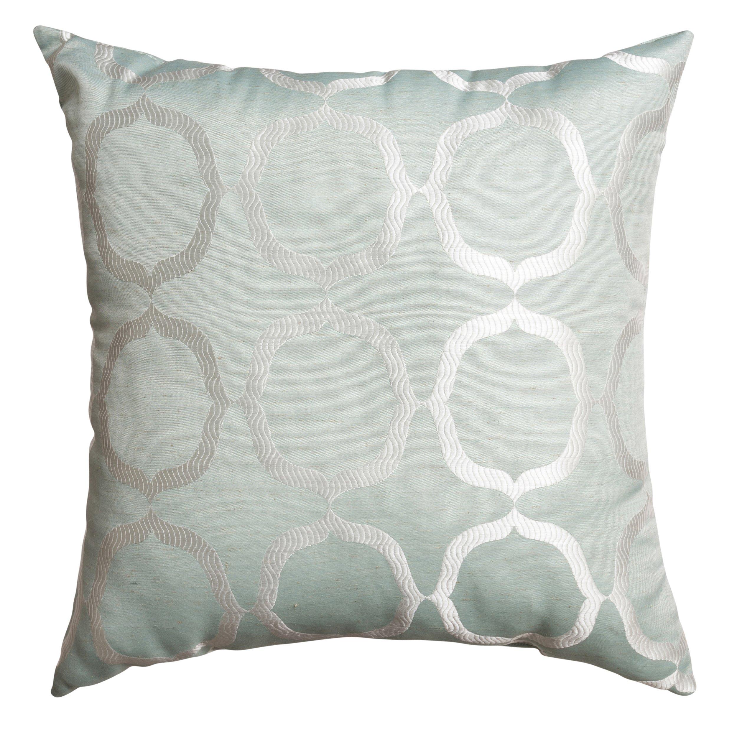 Softline Home Fashions 924LND468118XPF Lapeer Throw Pillow, Spa