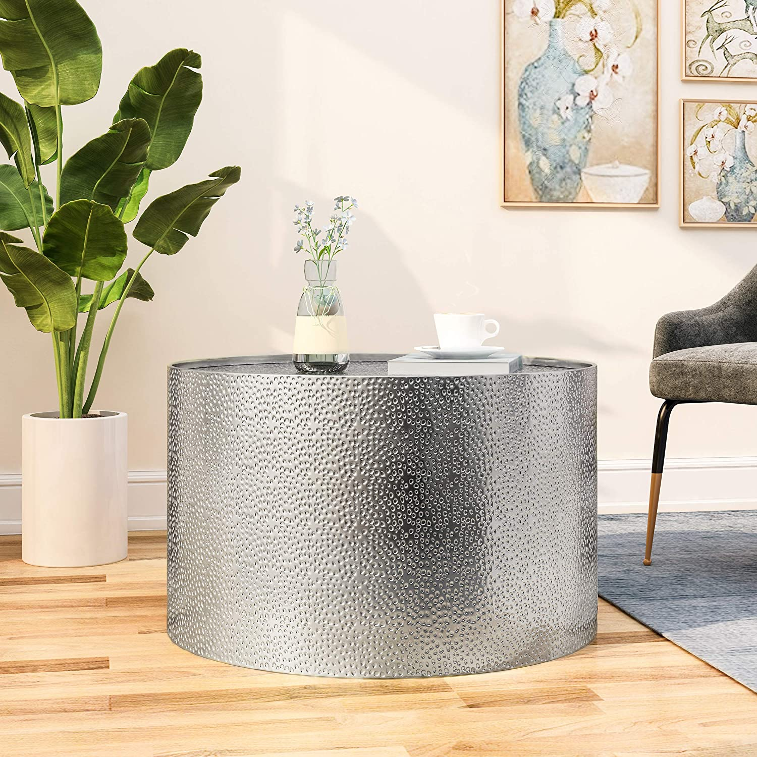 7. Christopher Knight Home Round Coffee Table – Best for Modern Look