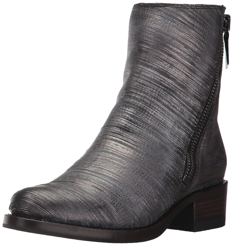 FRYE Women's Demi Zip Bootie Boot B01N4KF9Q3 8.5 B(M) US|Pewter Cut Metallic