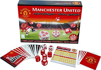 Starplayer Manchester United Dice Game