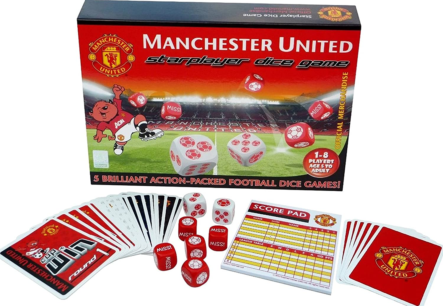 5f90d2b6cf5 Gift Ideas - Official Manchester United FC Ultimate Stationary Set - A  Great Present For Football Fans