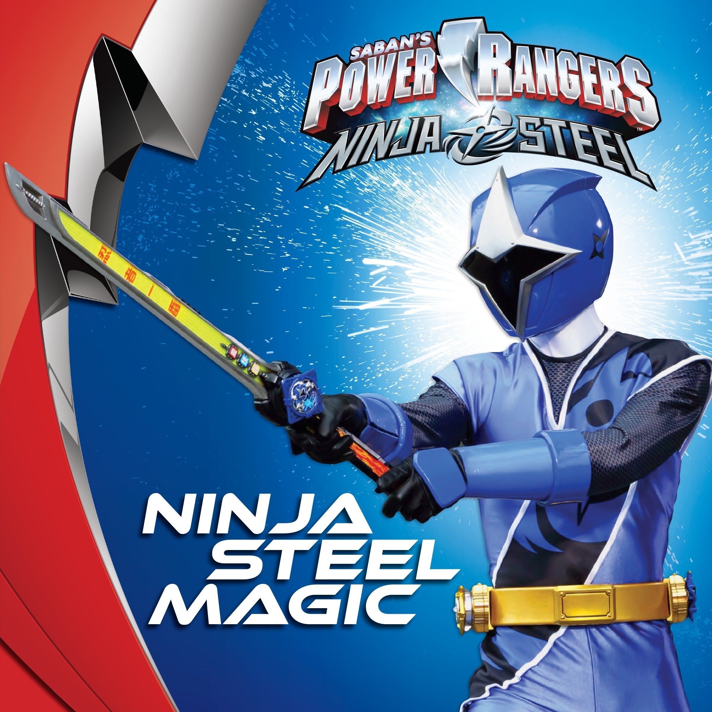 Ninja Steel Magic Sabans Power Rangers: Ninja Steel: Amazon ...