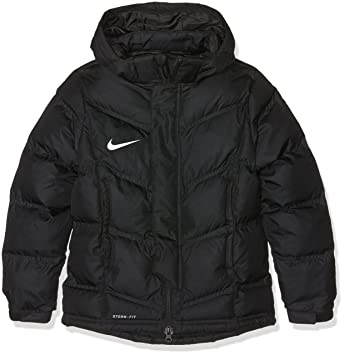 f9a8aba01830 Nike Kinder Jacke Team Winter Winterjacke, Black White, XS