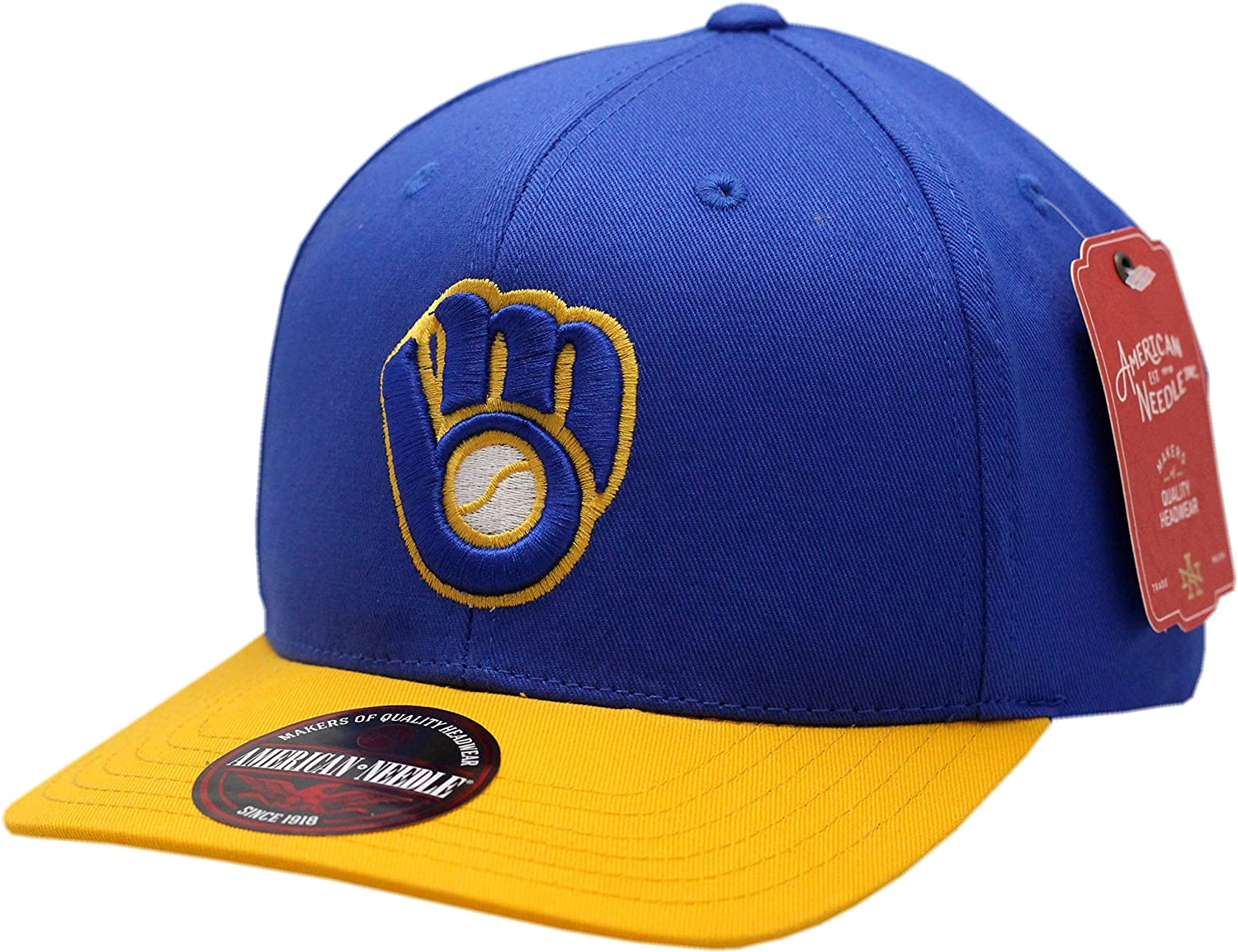 newest 07f19 9eb79 ... australia milwaukee brewers snapback flat bill outfield at amazon mens  clothing store 5d077 1a84d