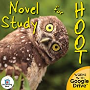 Novel Study Book Unit for Hoot by Carl Hiaasen Printable or for Google Drive™ or Google Classroom™
