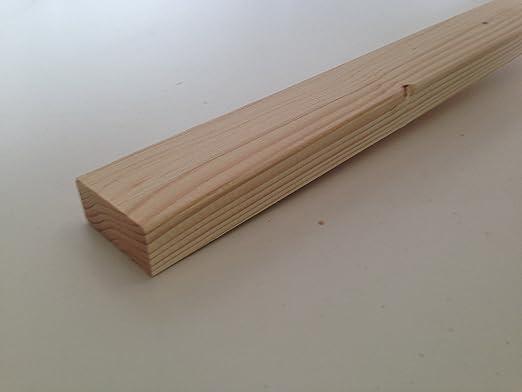 Amico Legno Listelli Abete piallati e spigolati 2 x 4,5 x 200 cm (Pz 10)