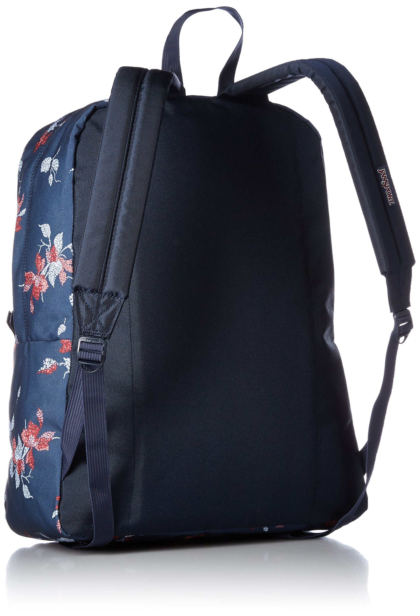 JanSport Unisex SuperBreak Navy Sweet Blossom Backpack