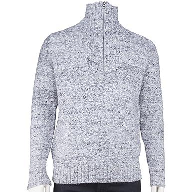 official photos 878e4 82712 Guess - Herren Pullover Wolle Polyester Alpaca Nylon grau ...