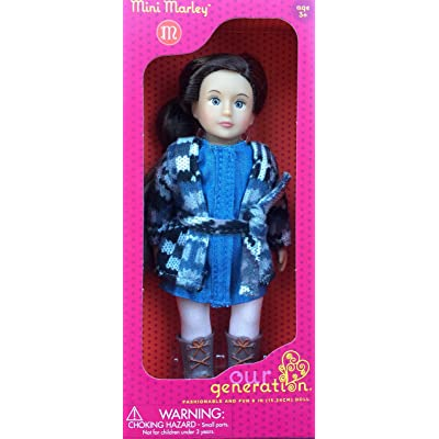 Our Generation mini doll Marley 6 inches: Toys & Games