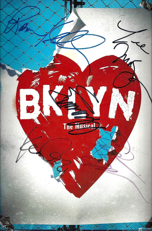 Playbill Eden Espinosa Brooklyn Cleavant Derricks Karen Olivo