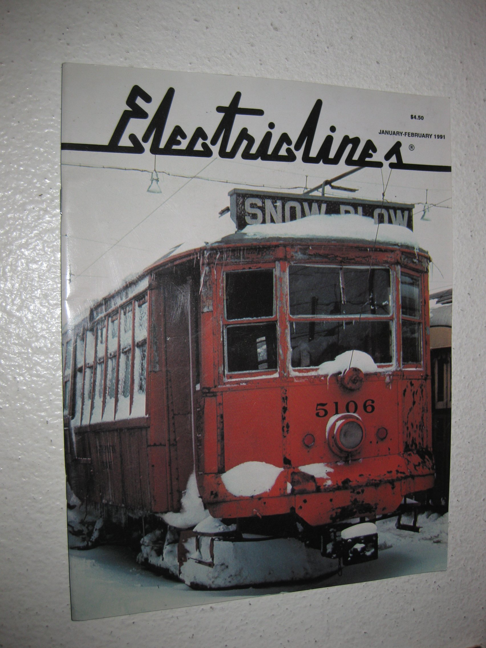 Electric Lines - The Magazine of Electric Transportation - 1991
