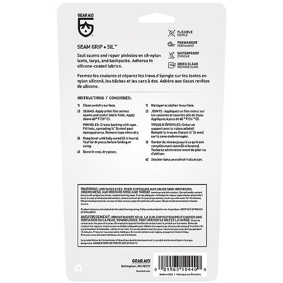 Sellador de silicona neto McNett Sil: Gear Aid: Amazon.es ...