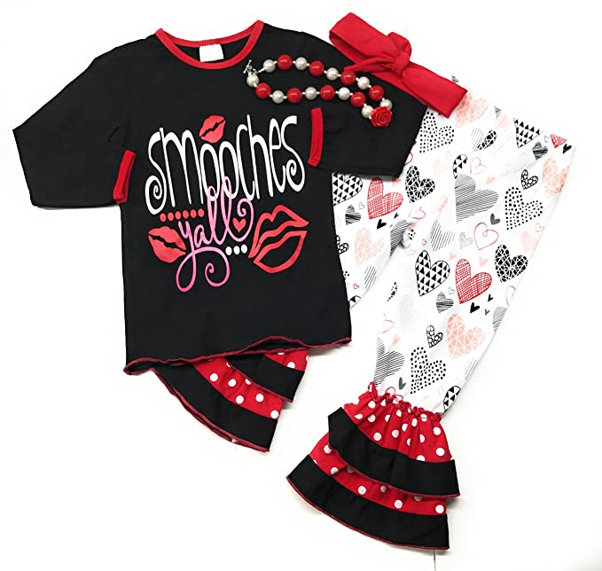 Amazon Com Cute Kids Clothing Co Sale Toddler Girl Valentine S Day
