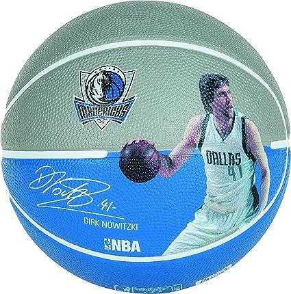 Spalding Ballon Player Dirk Nowitzki: Amazon.es: Deportes y aire libre