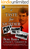 A Taste For Murder (English Edition)