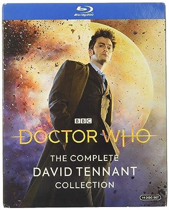 Doctor Who: Complete David Tennant Edizione: Stati Uniti Italia Blu-ray: Amazon.es: Cine y Series TV