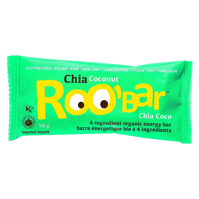 Barrita Ecológica - Chía y Coco (caja de 16 x 50g): Amazon ...