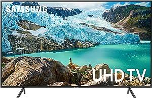 Samsung UN50RU7100FXZA Flat 50-Inch 4K UHD 7 Series Ultra HD Smart TV with HDR and Alexa Compatibility (2019 Model)