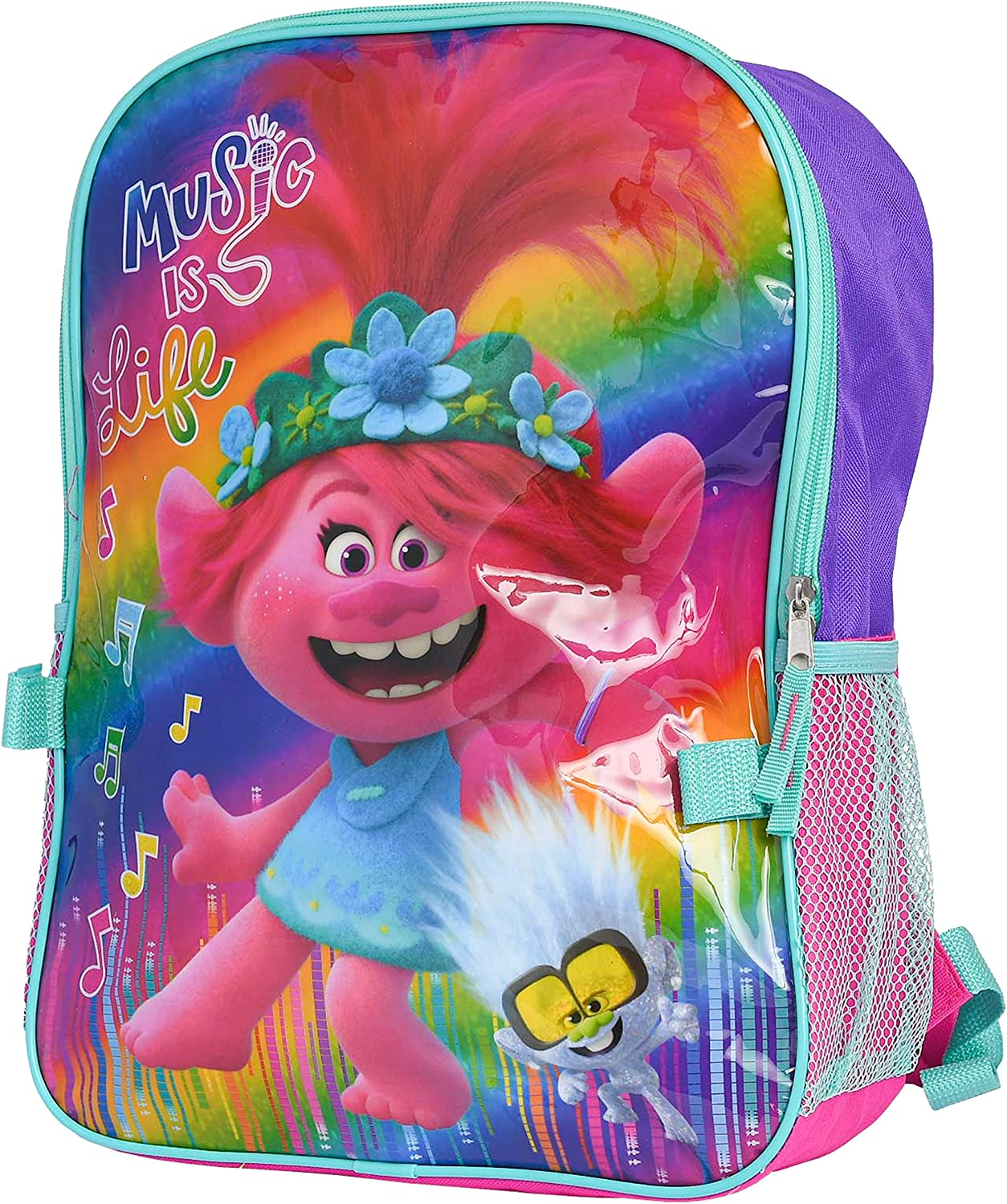 Backpacks & Lunch Boxes Toys & Games Trolls World Tour 16 Backpack ...