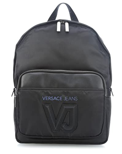 17d6908647 Image Unavailable. Image not available for. Color: Versace EE1YSBB03 EMAG  Black Backpack for Mens