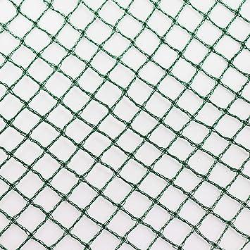 robustes Teichnetz 4 x 11 m Laubnetz Vogelschutznetz Reiherschutz Laubschutznetz