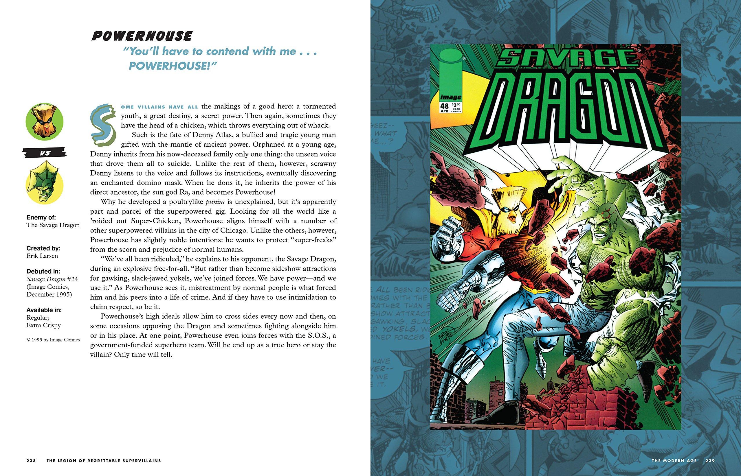 The Legion Of Regrettable Supervillains: Oddball Criminals Fromic Book  History: Amazon: Jon Morris: 9781594749322: Books
