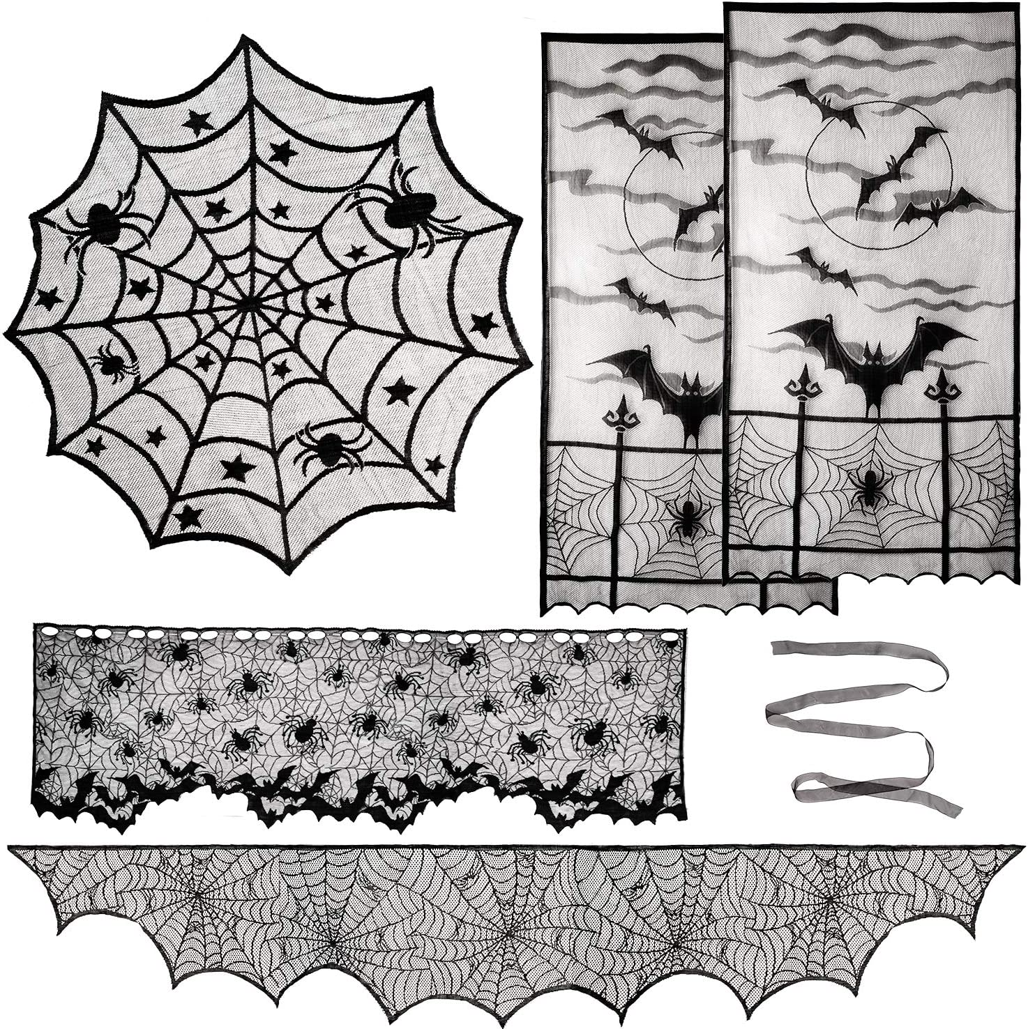 12x12 Buy One Get One Free 5-Pack Victorian Gothic Window Cling CGSignLab