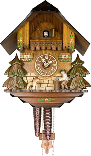 Adolf Herr Cuckoo Clock – The Busy Wood Chopper