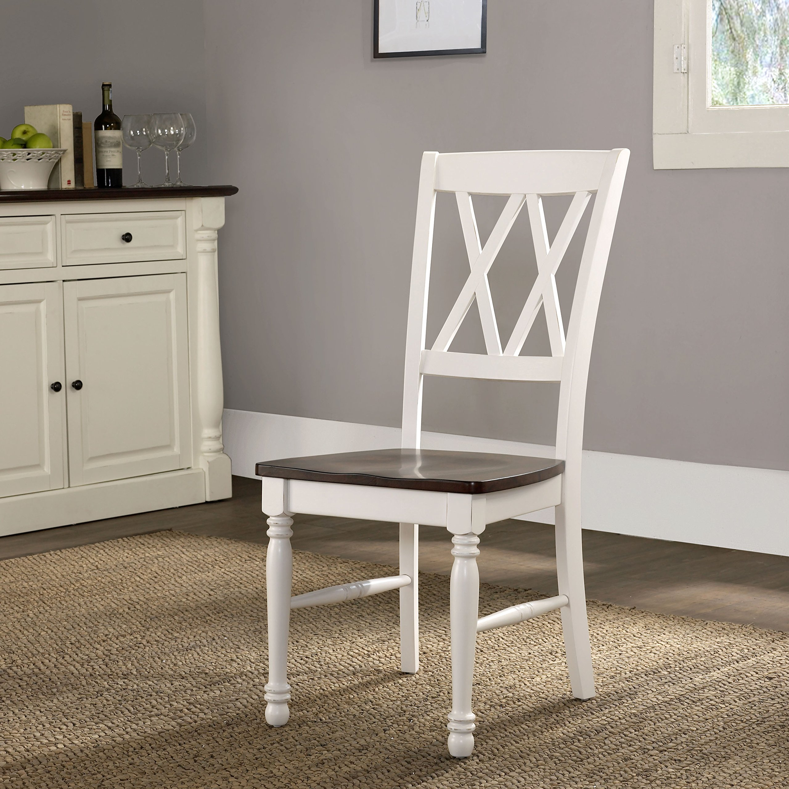 Crosley Furniture CF501018-WH Shelby Dining Chairs (Set of 2), White by Crosley Furniture (Image #9)